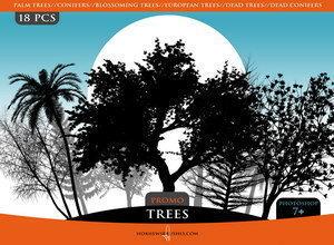 Кисти деревья