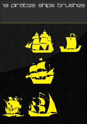 Кисти пиратские корабли