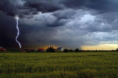 Молния в Фотошоп