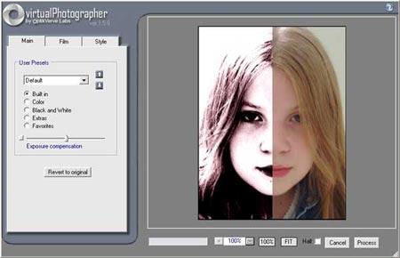 Виртуальный фотограф - бесплатный плагин для Фотошоп