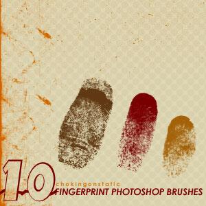 Кисти отпечатки пальцев