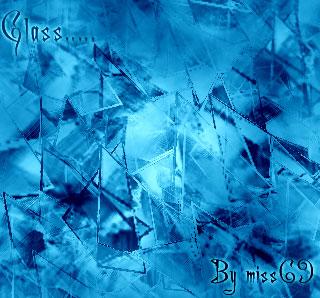 Кисти разбитое стекло