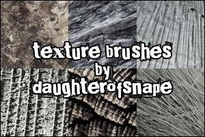 Кисти разнообразные текстуры
