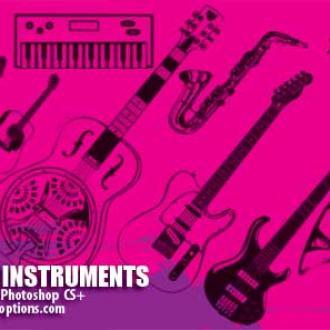 Кисти музыкальные инструменты