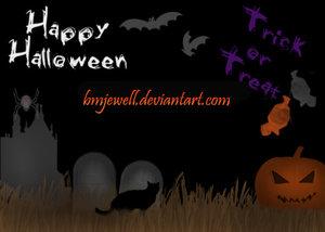 Страшные кисти для хеллоуина