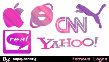 Кисти знаменитые логотипы