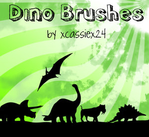 Кисти динозавры