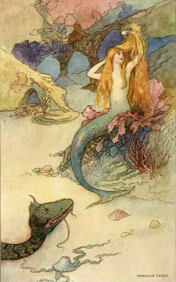 русалка и змей