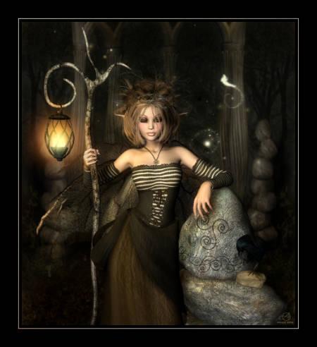 современная ведьмочка