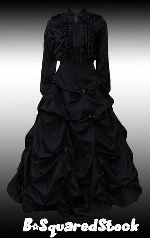 Готическое платье викторианской эпохи