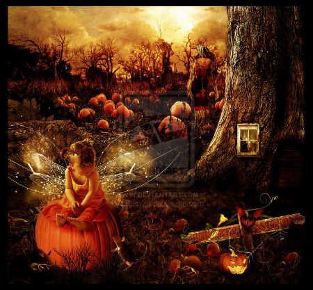 хэллоуин и дети