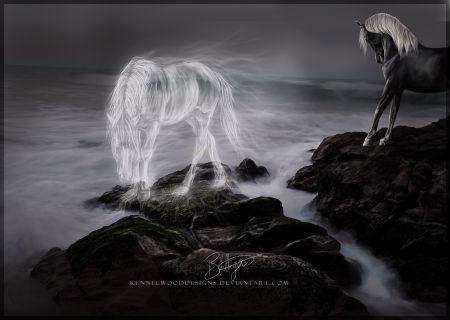 призрак лошади