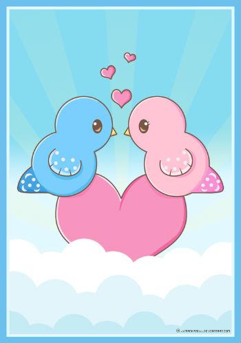 влюбленные птички