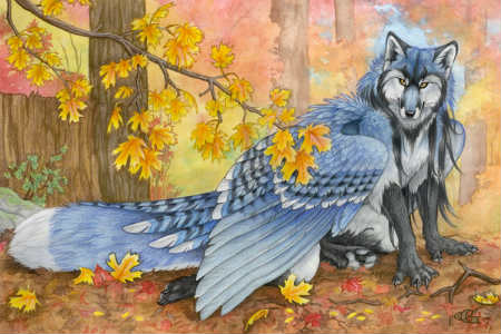 Конкурс рисования Создания с крыльями