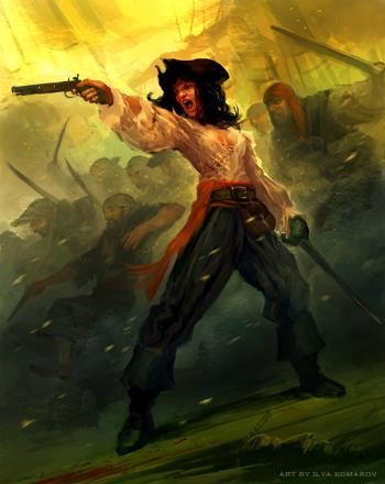 Турнир Пираты и корсары